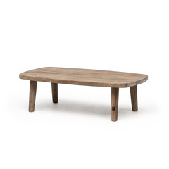 Gommaire Coffee Table Carol | Reclaimed Teak Natural Gray