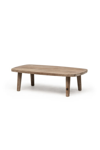 Gommaire Coffee Table Carol | Reclaimed Teak Natural Grey