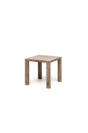 Gommaire Bistro Table Sandy | Reclaimed Teak Natural Gray
