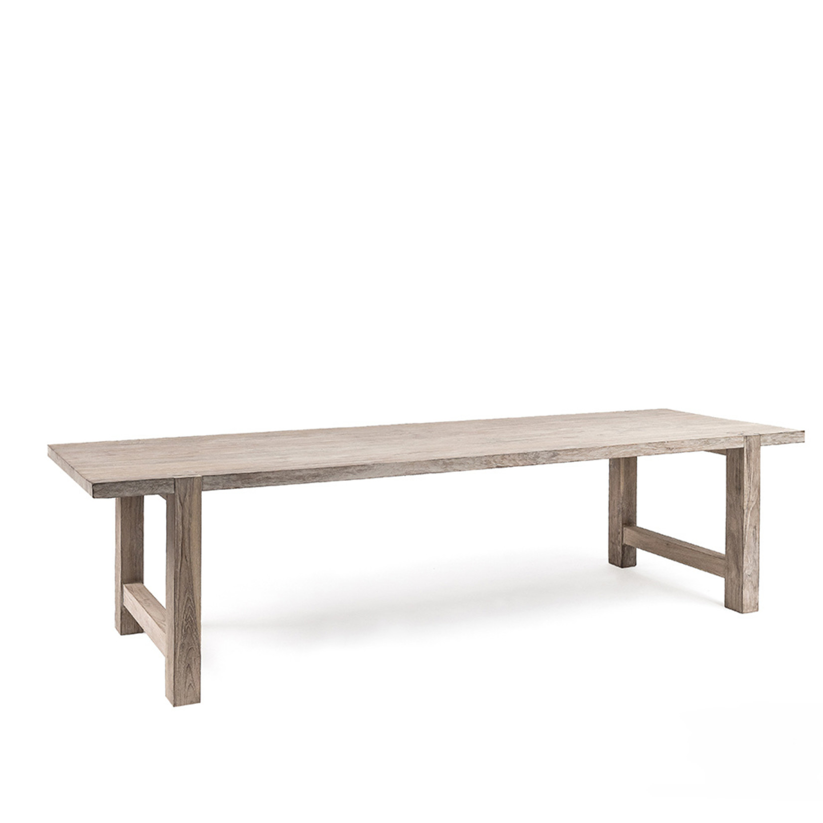 Gommaire Table Jacob Large | Reclaimed Teak Natural Grey