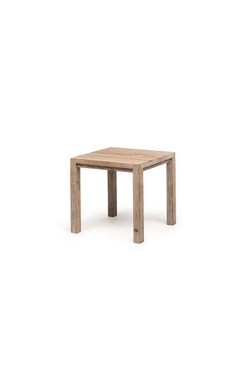 Gommaire Bistro Table Jacob | Reclaimed Teak Natural Gray
