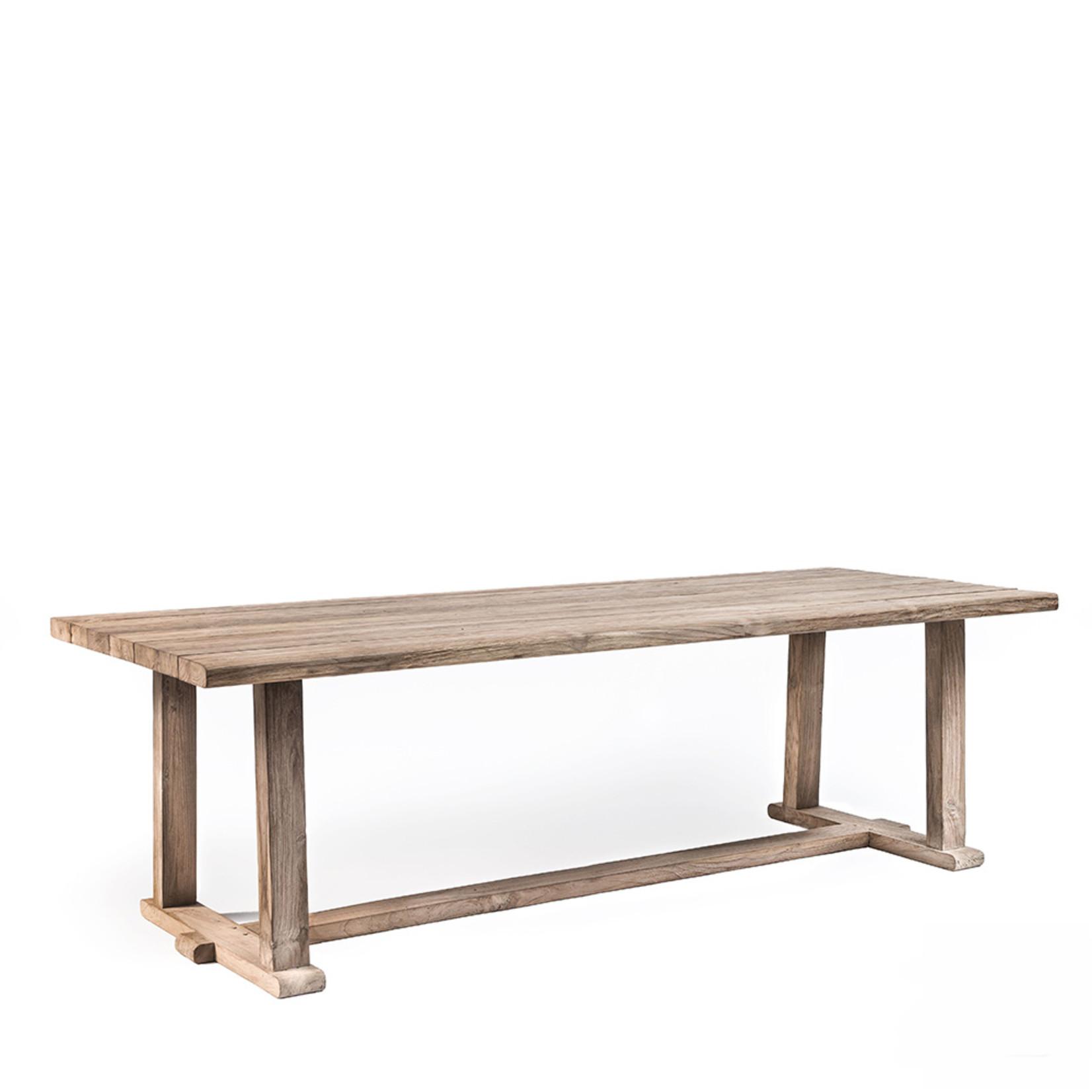 Gommaire Table Josse   Reclaimed Teak Natural Gray