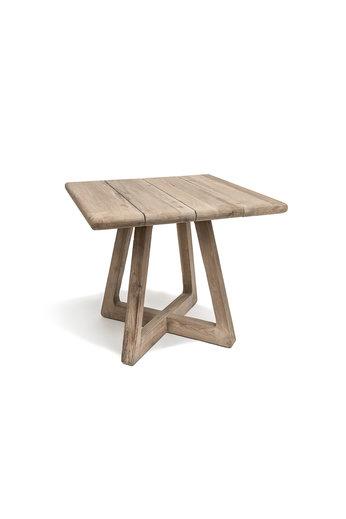 Gommaire Bistro Table Dennis | Reclaimed Teak Natural Grey