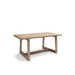 Gommaire Table de bar Dennis Small | Teck récupéré gris naturel