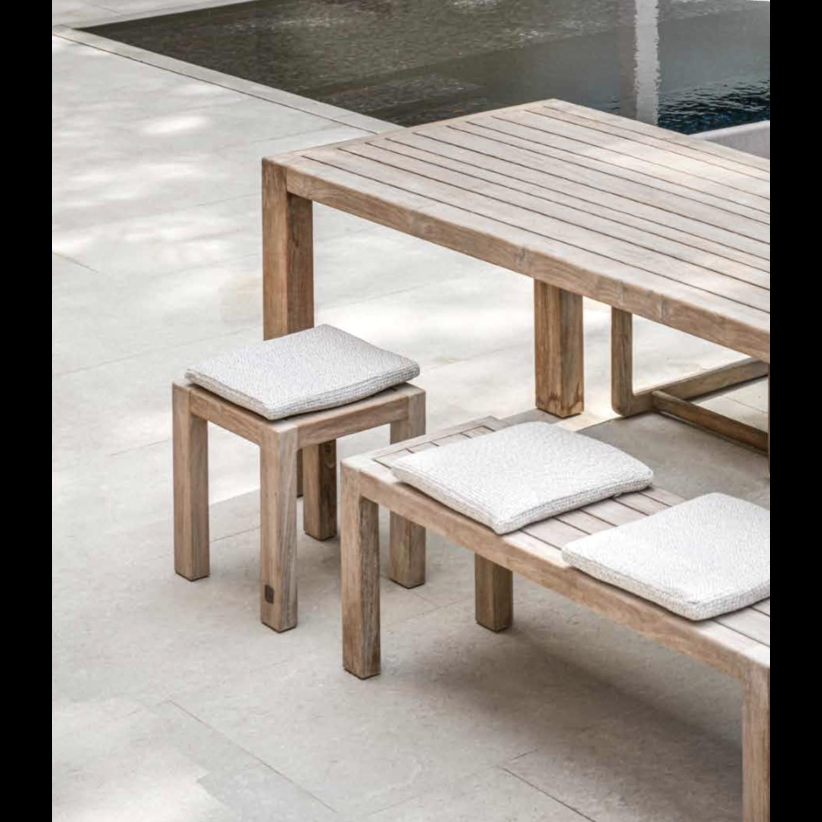 Gommaire Bench Sandy Large | Reclaimed Teak Natural Grey