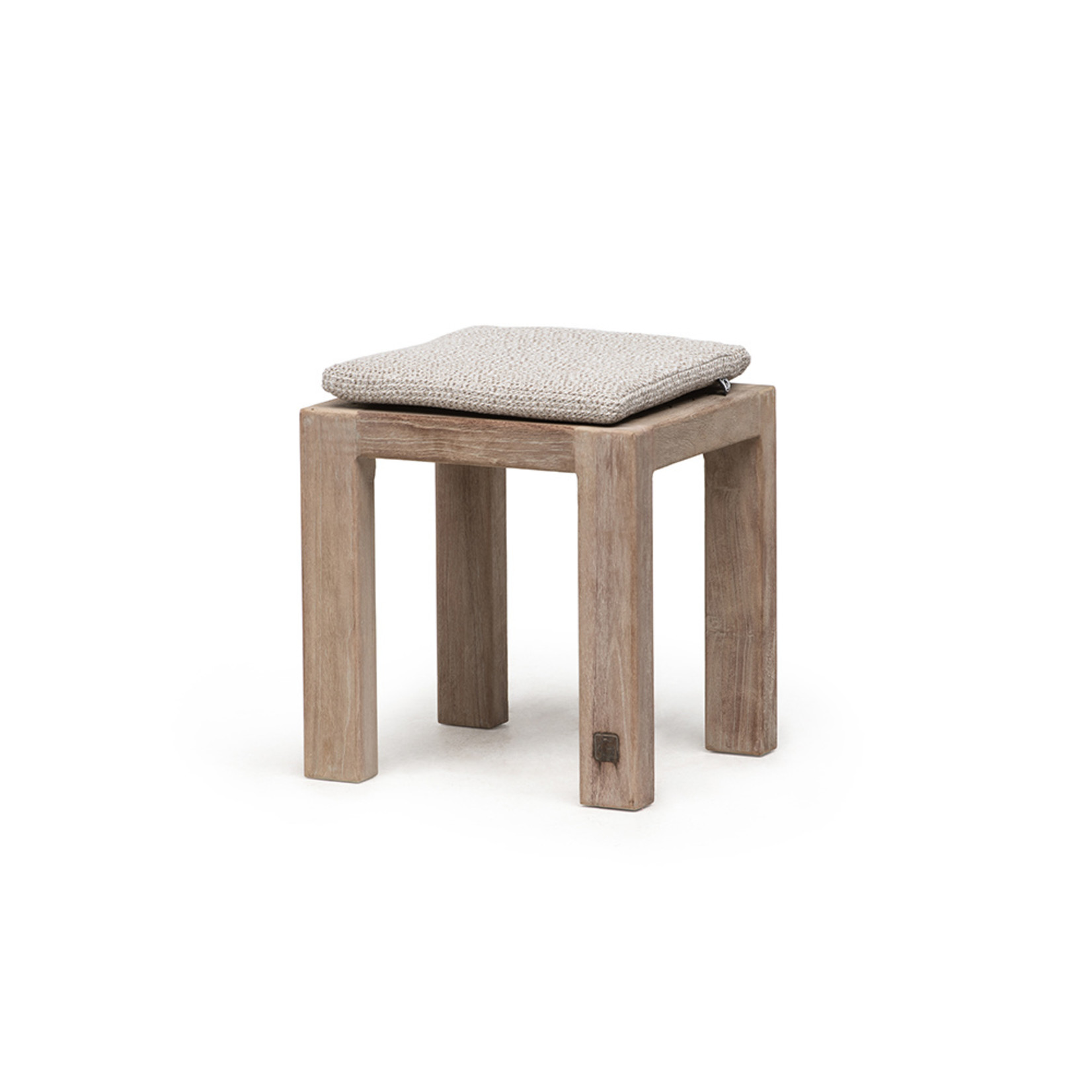 Gommaire Bench Sandy Small | Reclaimed Teak Natural Gray