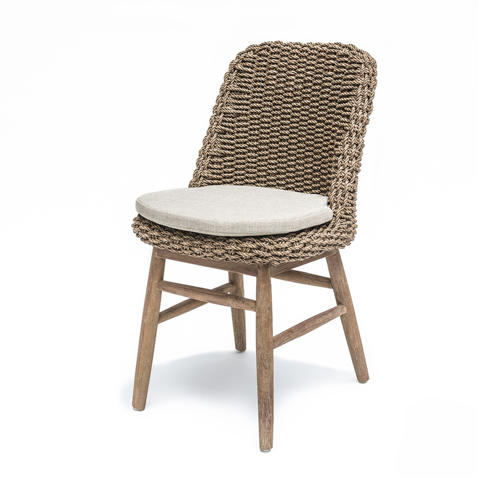 Gommaire Chair Sienna   Reclaimed Teak Natural Grey / PE Wicker Natural