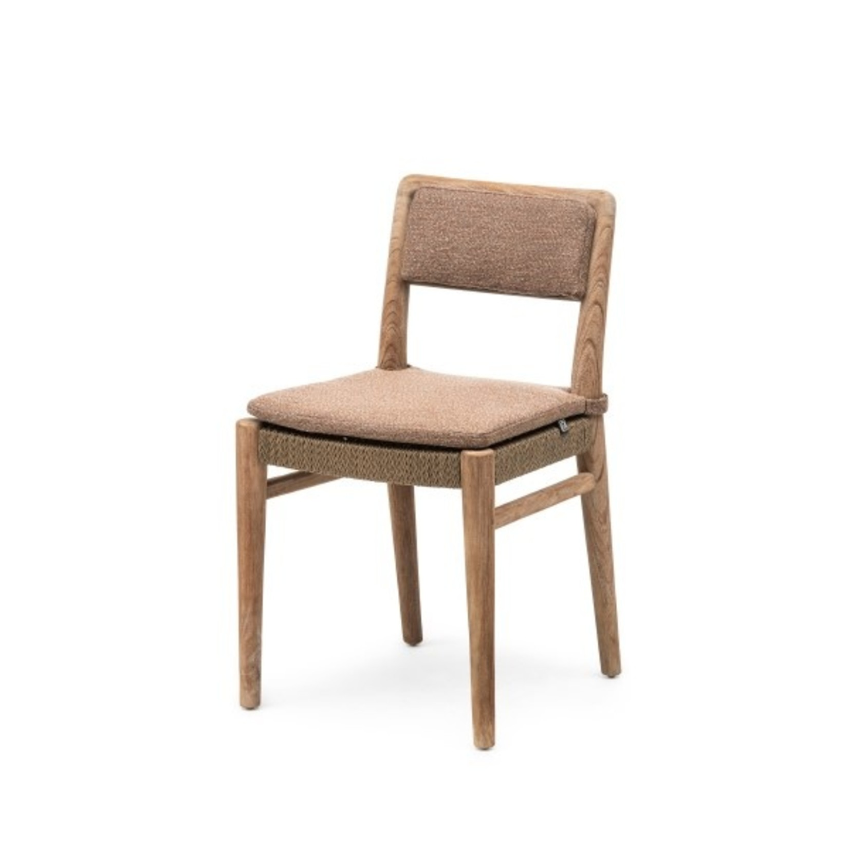 Gommaire Chair Jared | Teak Natural Grey / PE Wicker Antique Weed