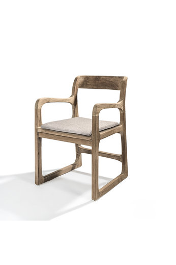 Gommaire Armchair Sally | Reclaimed Teak Natural Gray