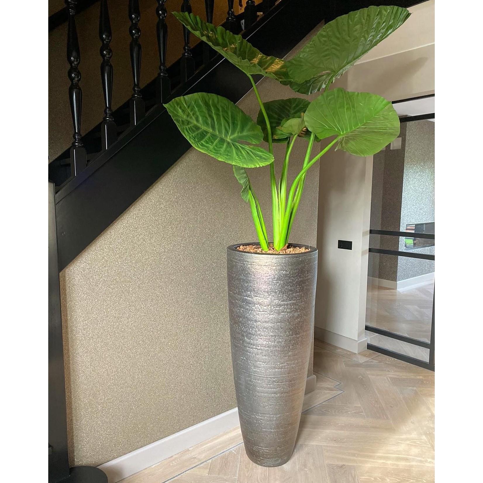 Silk-ka Alocasia Vert | 124 cm