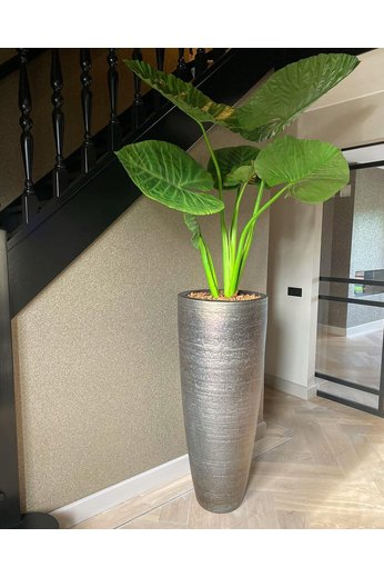 Silk-ka Plant Alocasia Green | 124 cm