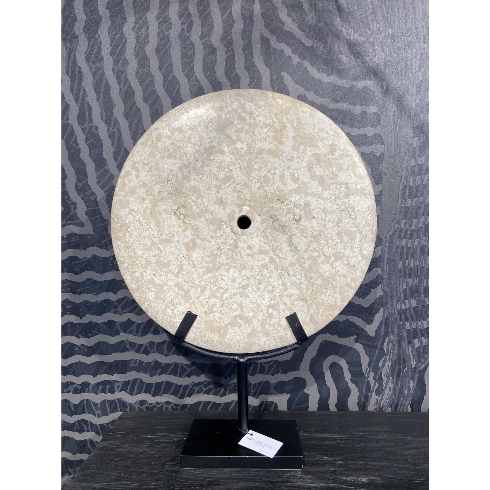 Ringstone blanc   Dia. 40 cm