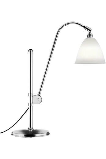 Gubi Lampe de table BL1 - Ø16 | Base chromée et abat-jour en porcelaine