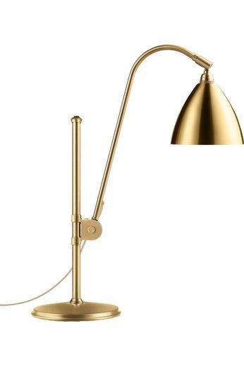 Gubi Lampe de table BL1 - Ø16   Base en laiton et abat-jour en laiton brillant