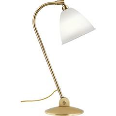 Gubi Lampe de table BL2 - Ø16 | Base en laiton et abat-jour en porcelaine