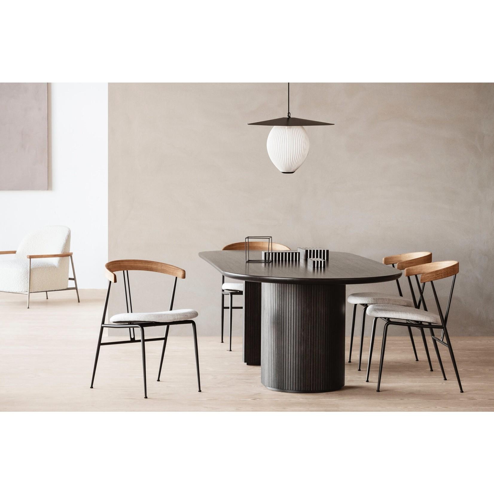 Gubi Moon Dining Table - Elliptical 300x105