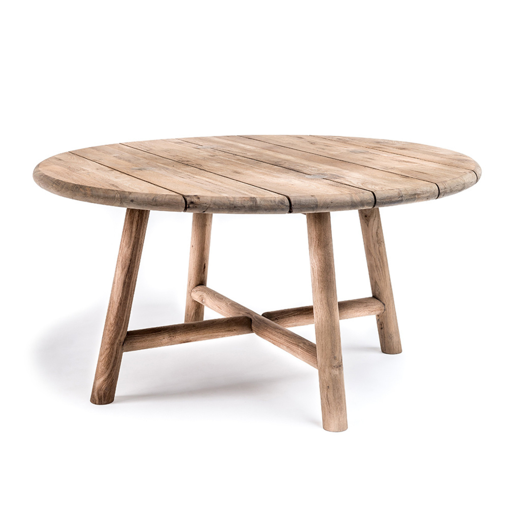 Gommaire Round Table Lydia | Reclaimed Teak Natural Grey