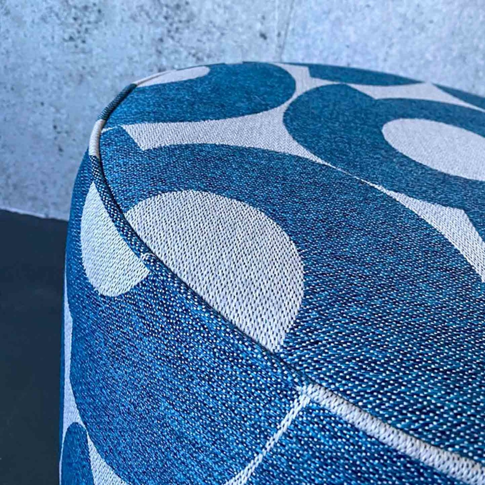 Evolution 21 Andorra Blue | Outdoor Pouf Sun Lux