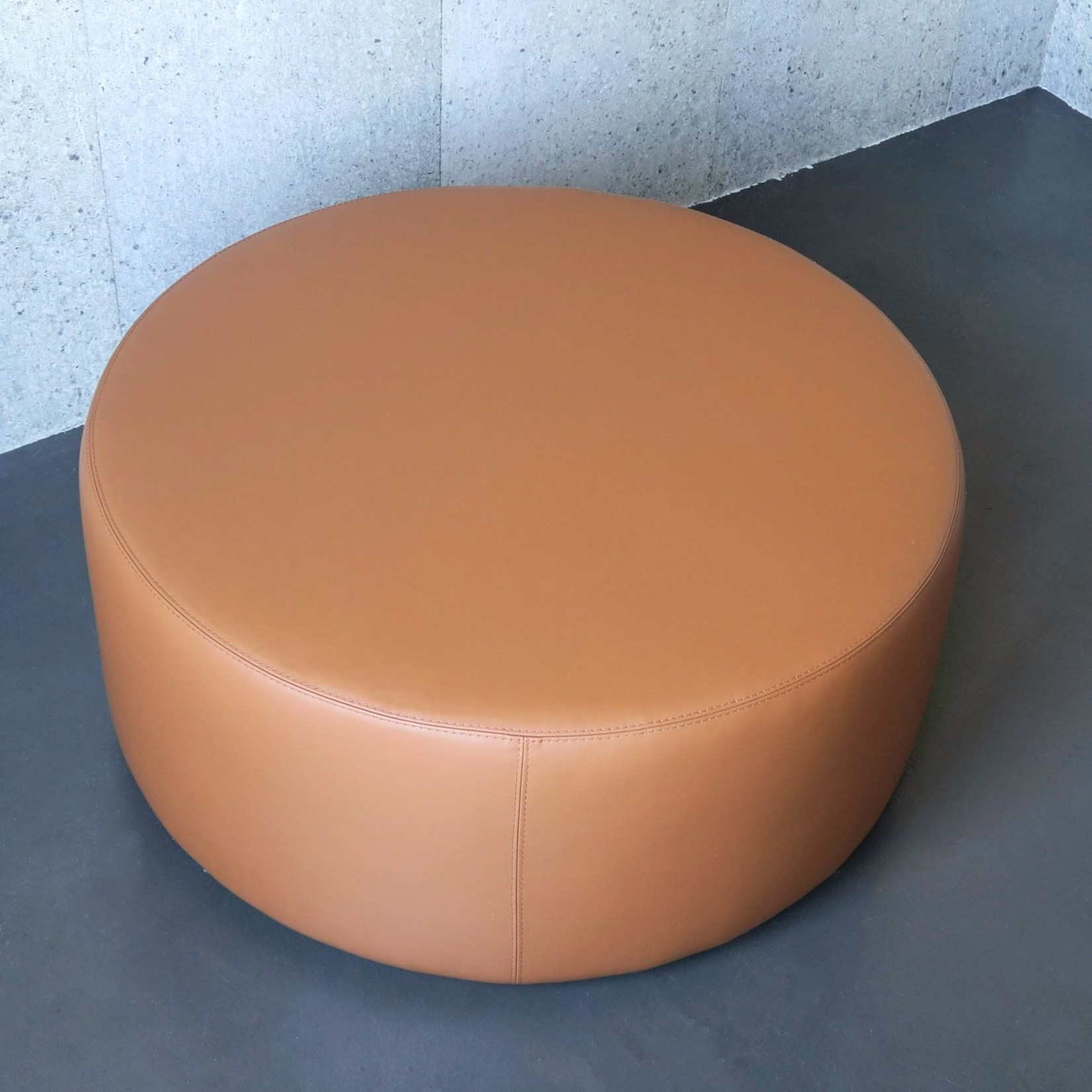 Evolution 21 Outdoor Leather Brown Cuoio | Outdoor Pouf Sun