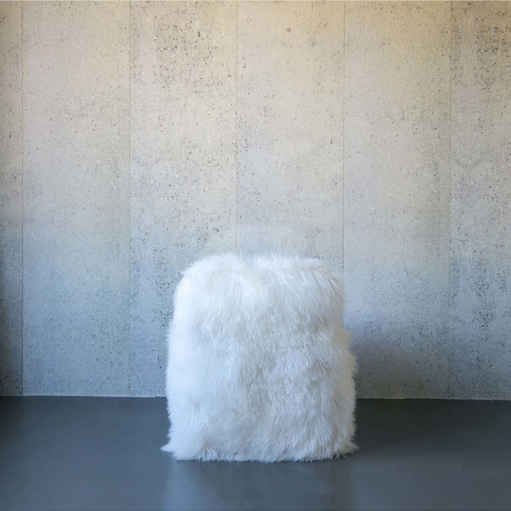 Evolution 21 Mongolia Fur White | Chair Venice