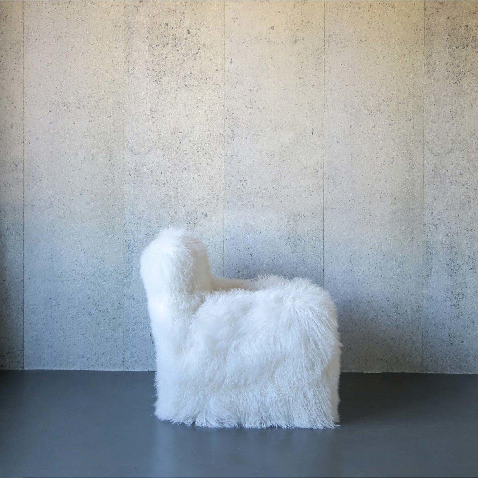 Evolution 21 Mongolia Fur White | Chair Venezia