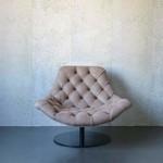Evolution 21 Nabuk Leather Brown | Swivel Chair