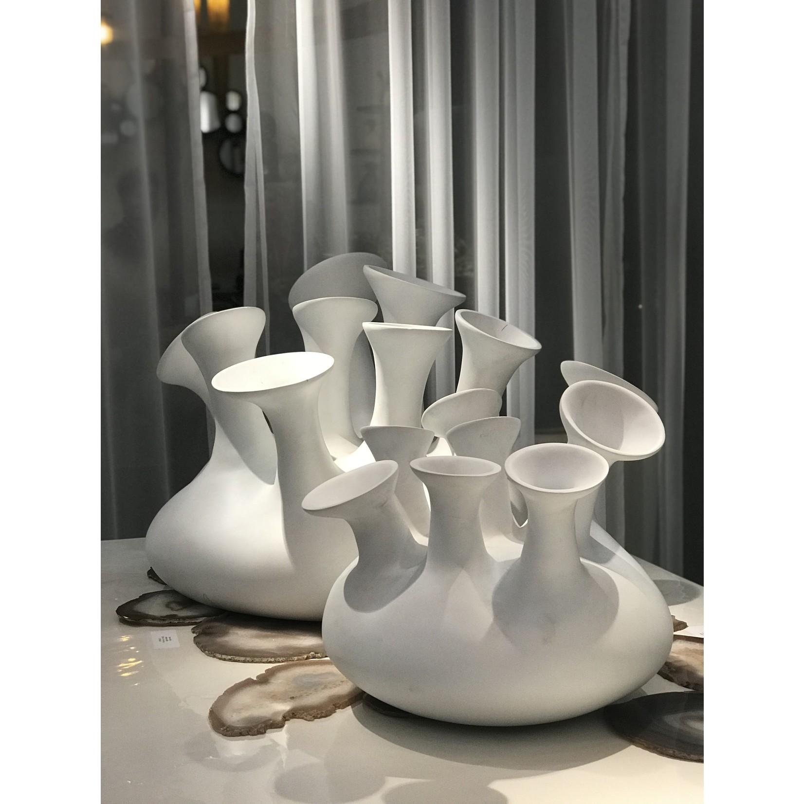 Aangenaam XL Jelly Vase | Matt White
