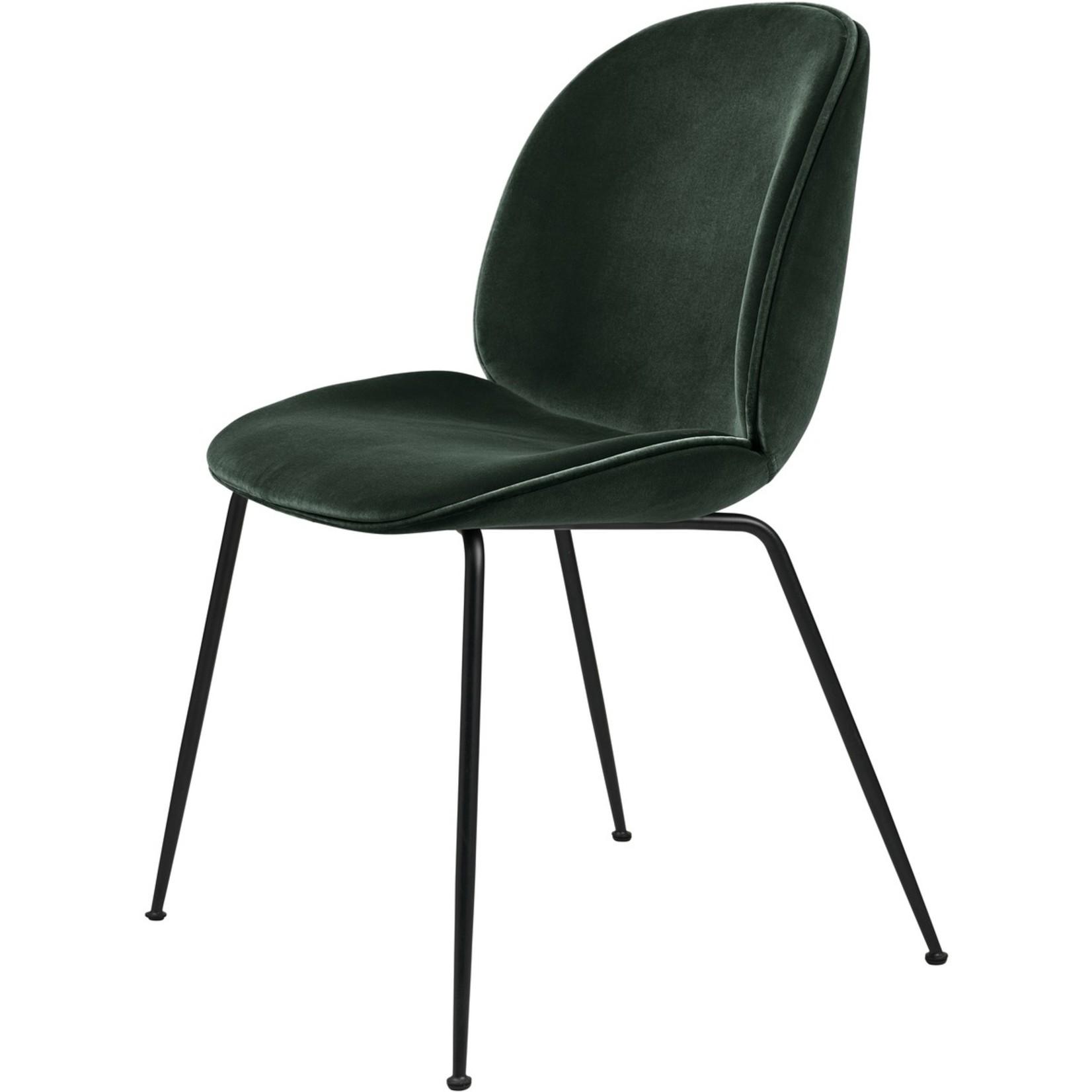 Gubi Beetle Dining Chair | Emerald Green & Black Matt Base