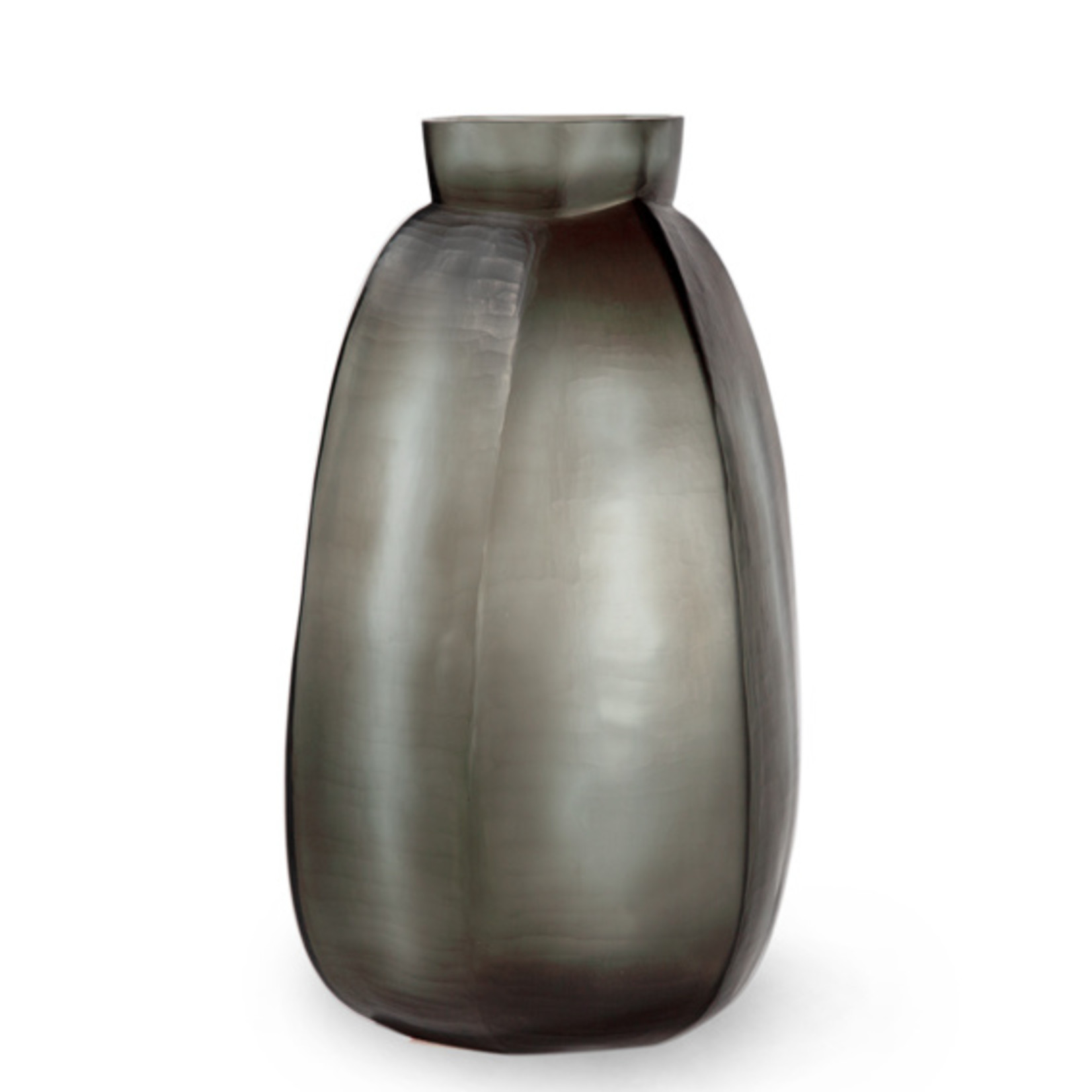 Guaxs Vase Karakol Tall   Indigo / Smoke Gray
