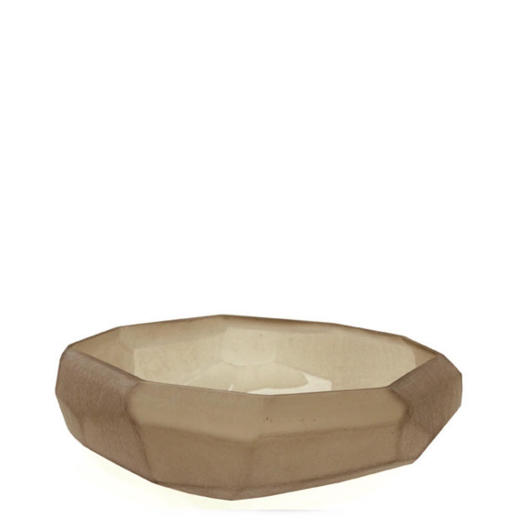 Guaxs Bowl Cubistic | smoke grey
