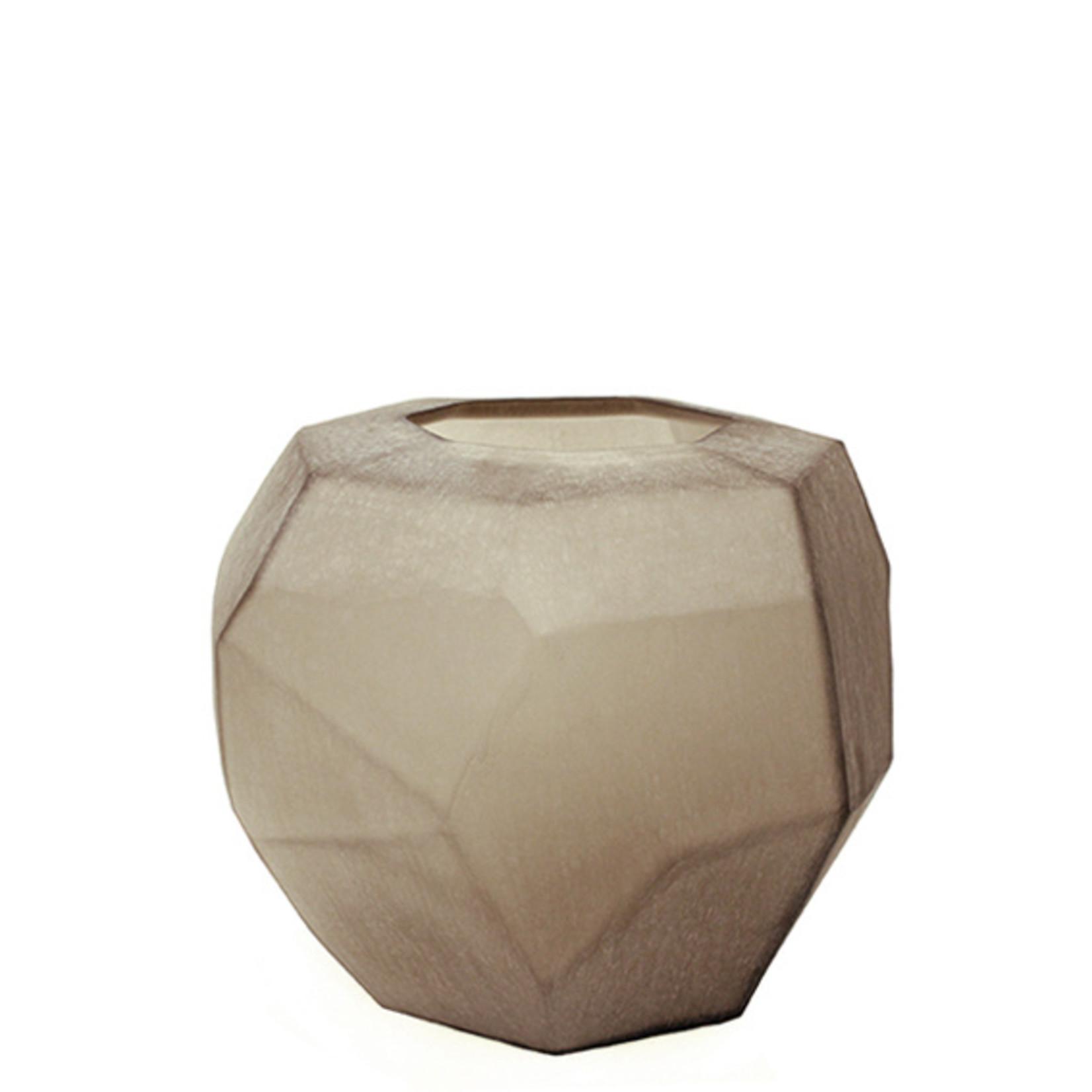 Guaxs Vaas Cubistic Round   Smokegrey