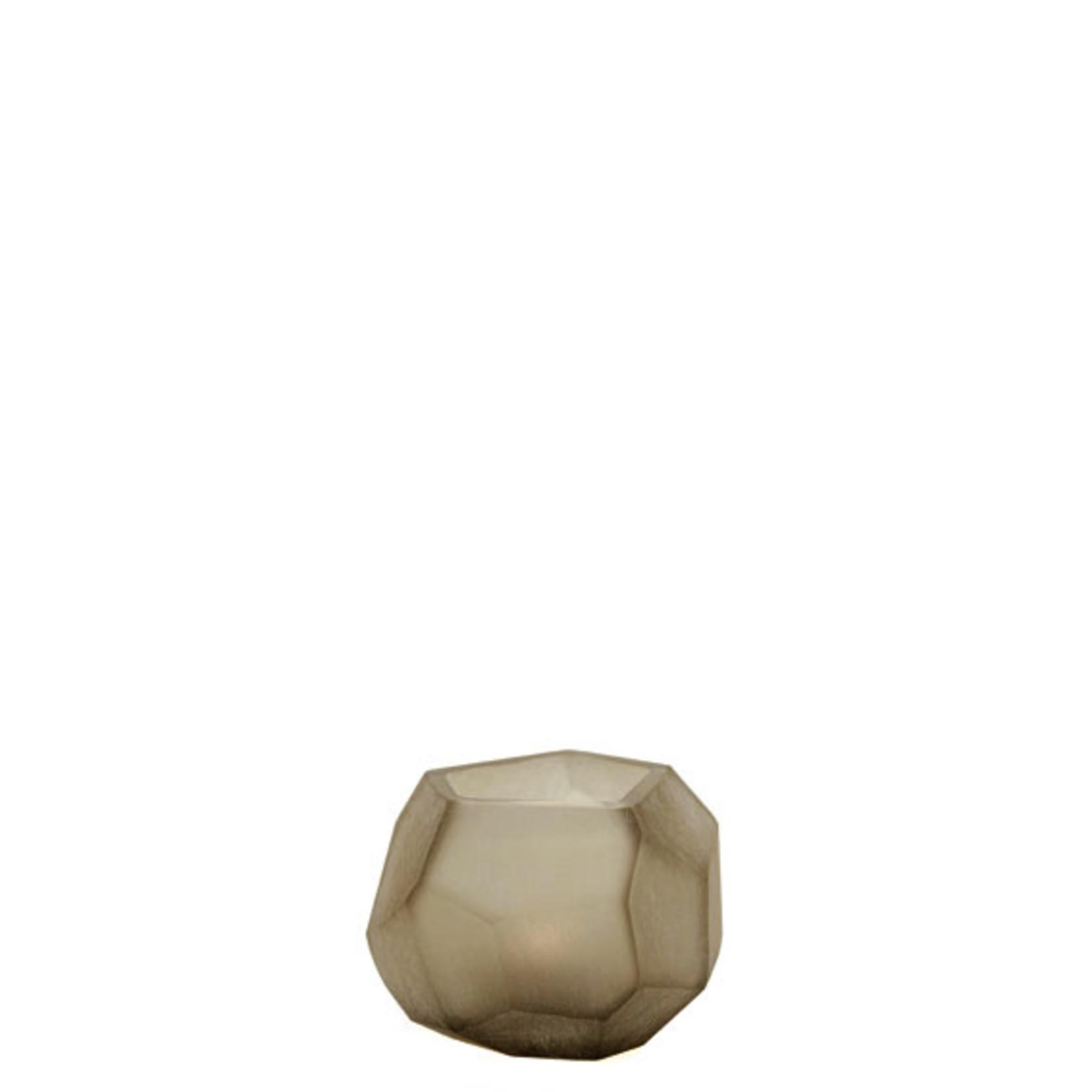 Guaxs Waxinelichthouder Cubistic | Smokegrey