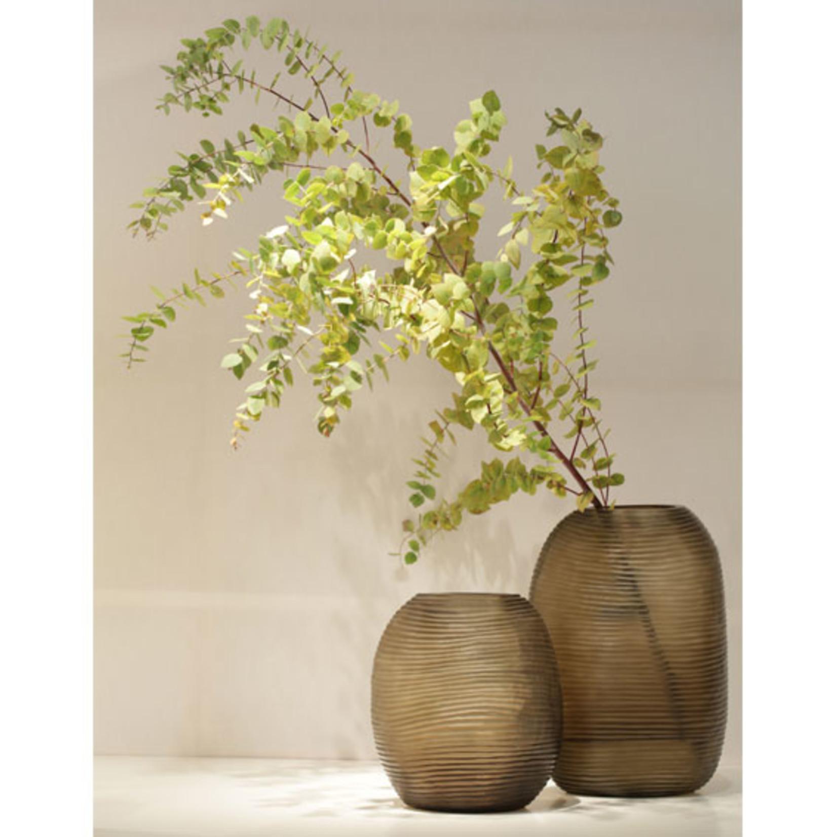 Guaxs Vase Patara Tall | Clear / Smoke Gray