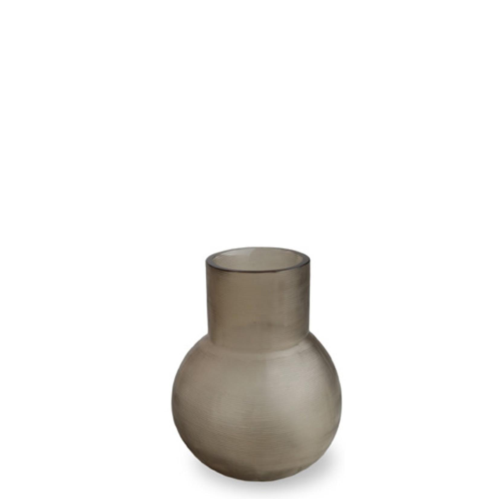 Guaxs Vase Yeola S   gris fumée