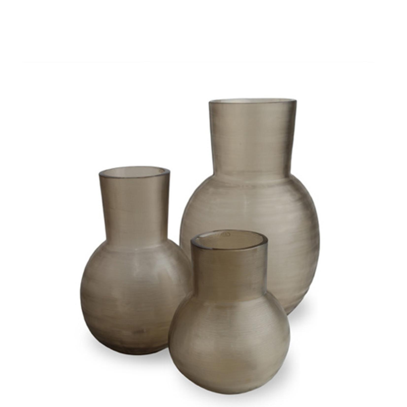 Guaxs Vase Yeola M | gris fumée