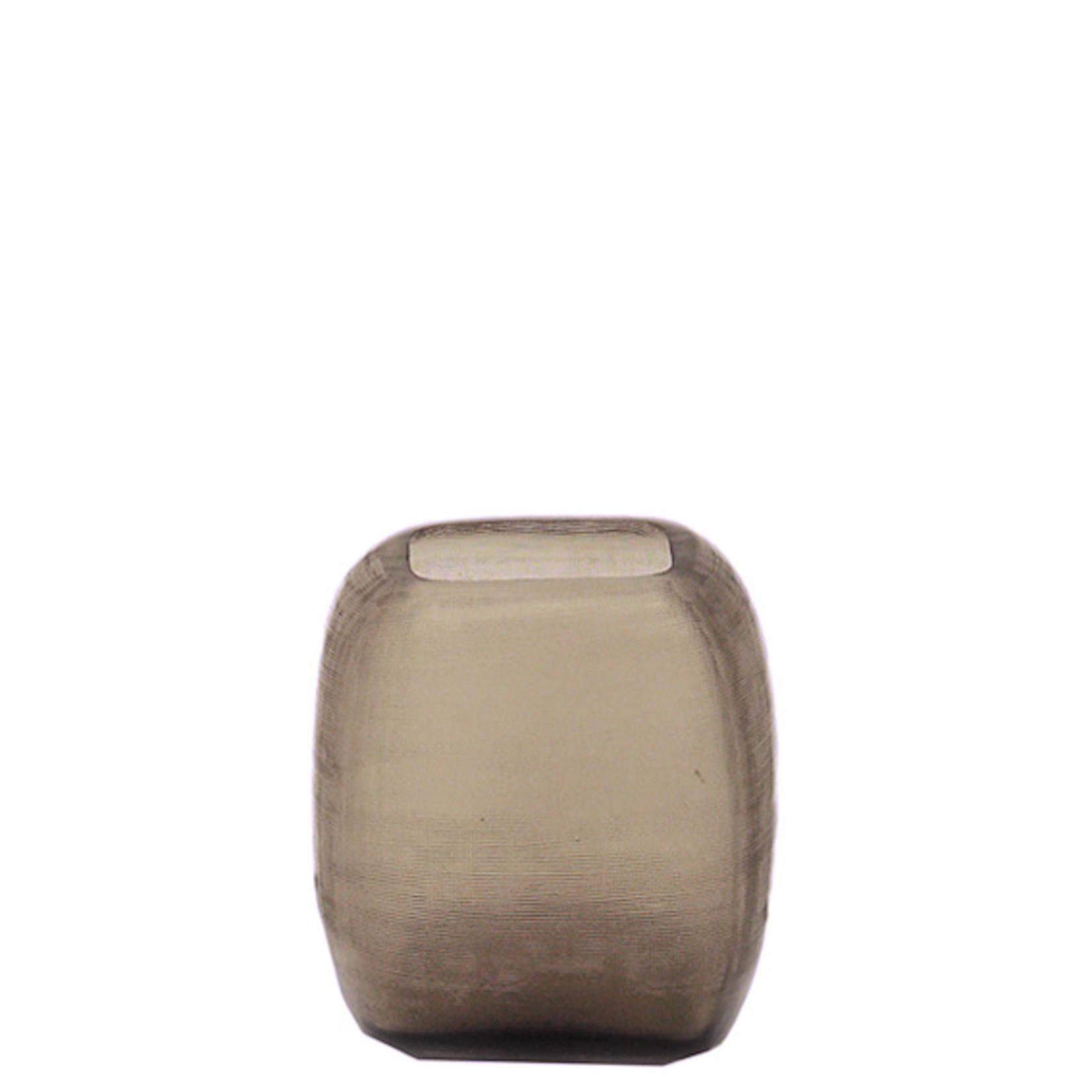 Guaxs Vase Yava M   smoke grey