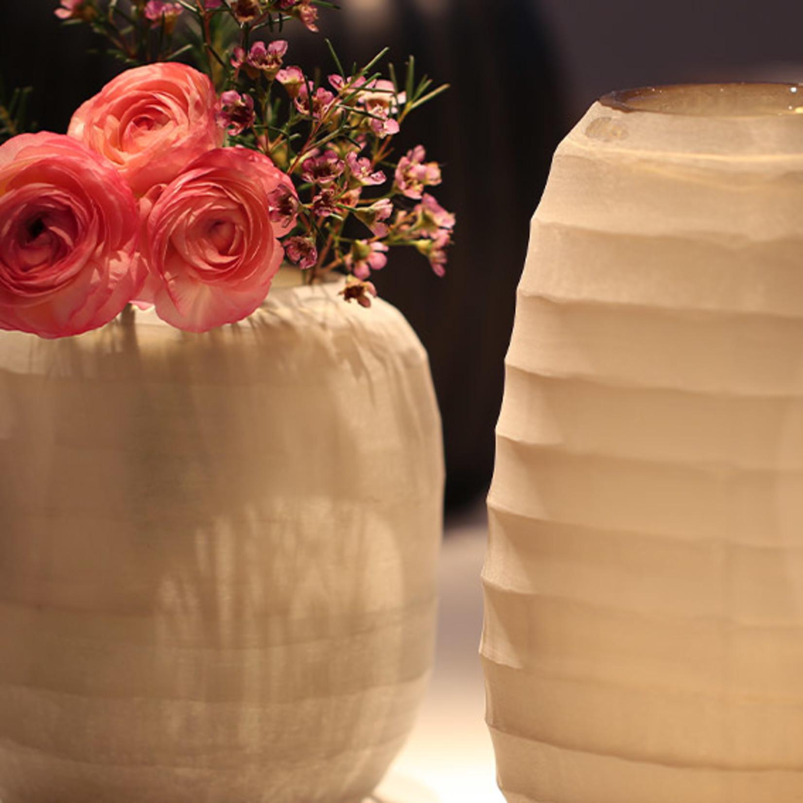 Guaxs Vase Belly L | smoke grey