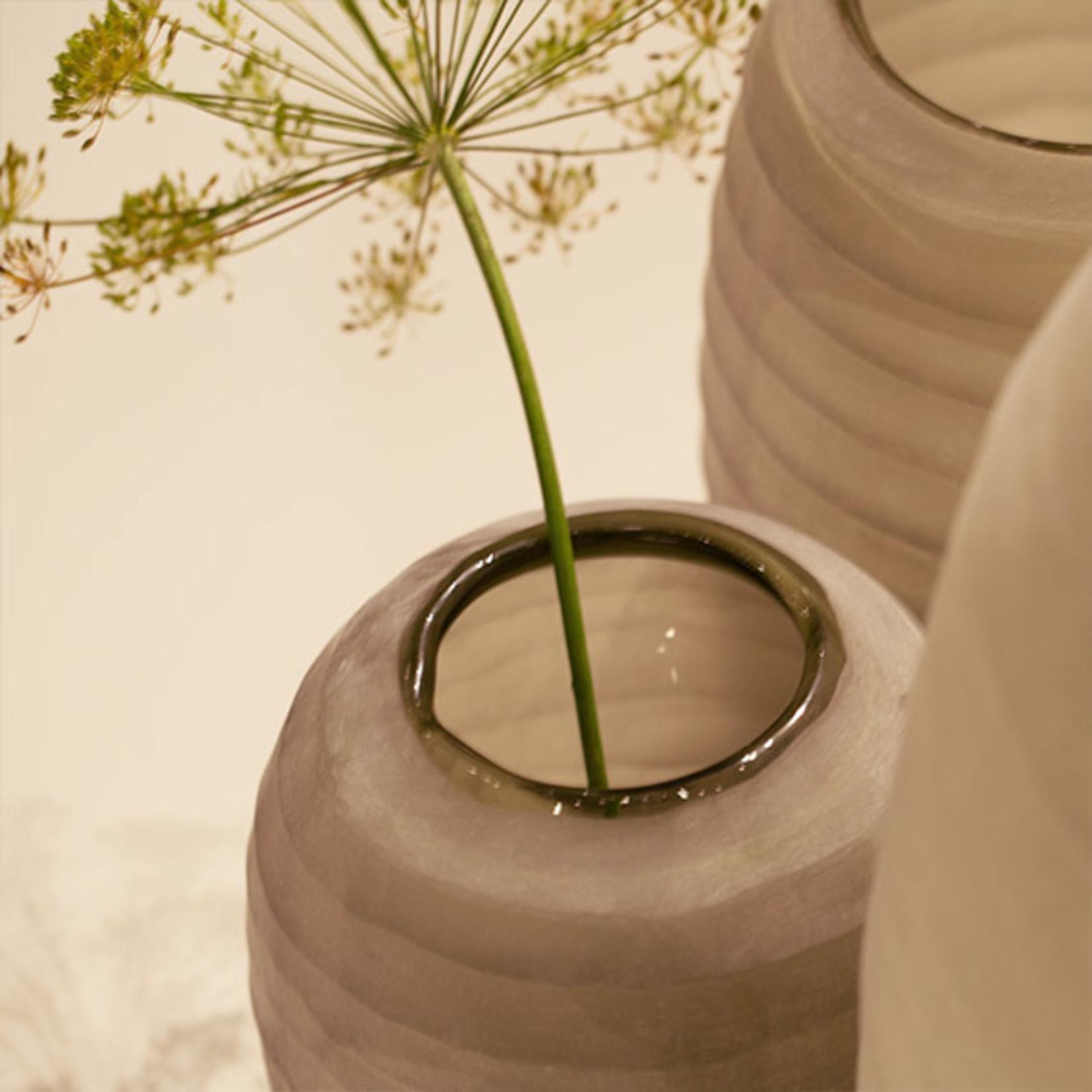 Guaxs Vase Belly XL | smoke grey