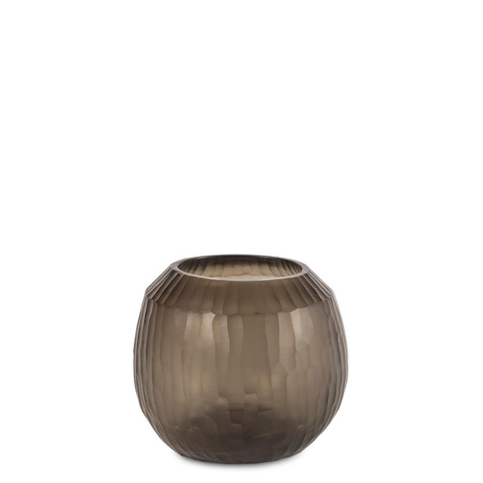 Guaxs Vase Malia M | smoke grey
