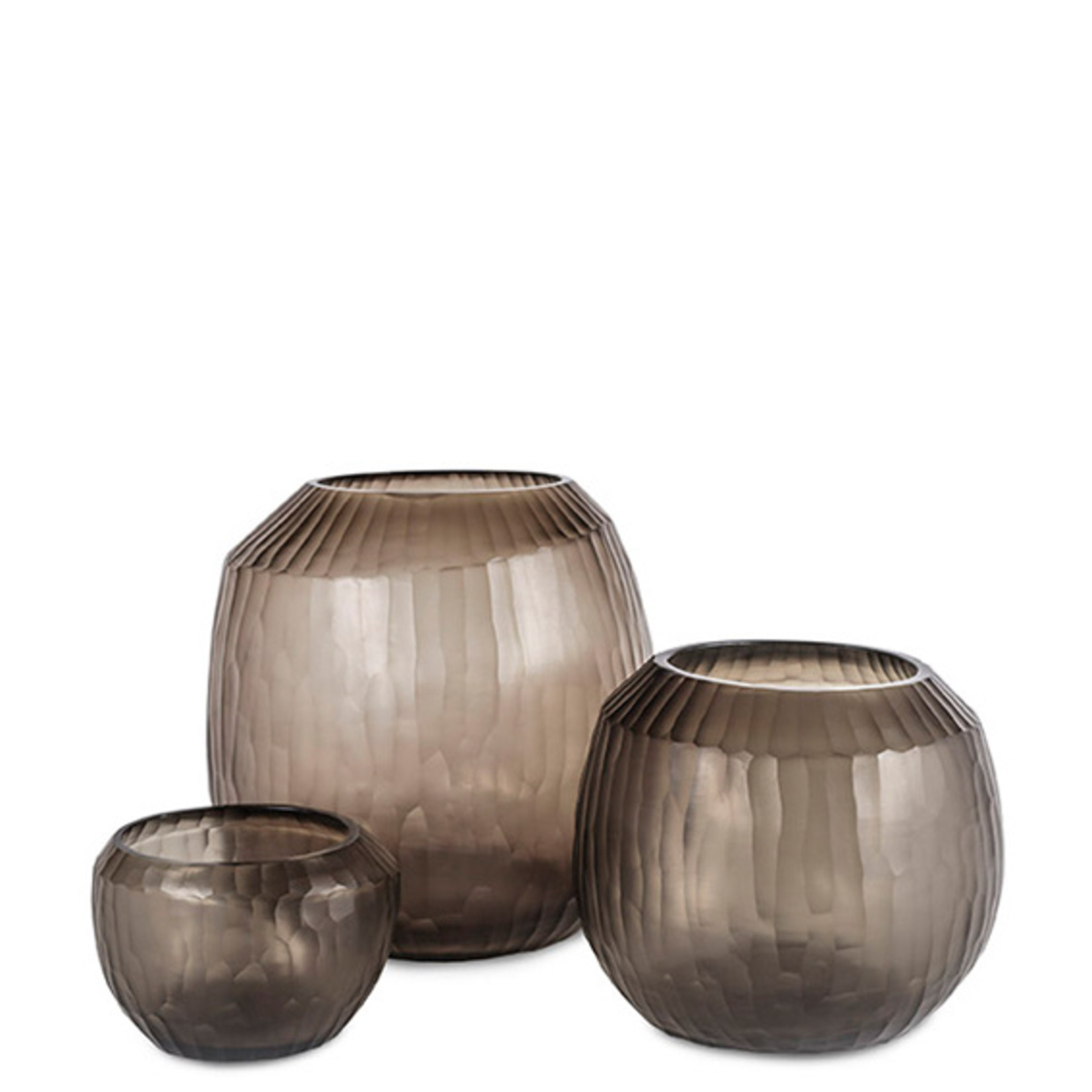 Guaxs Vase Malia L | gris fumée