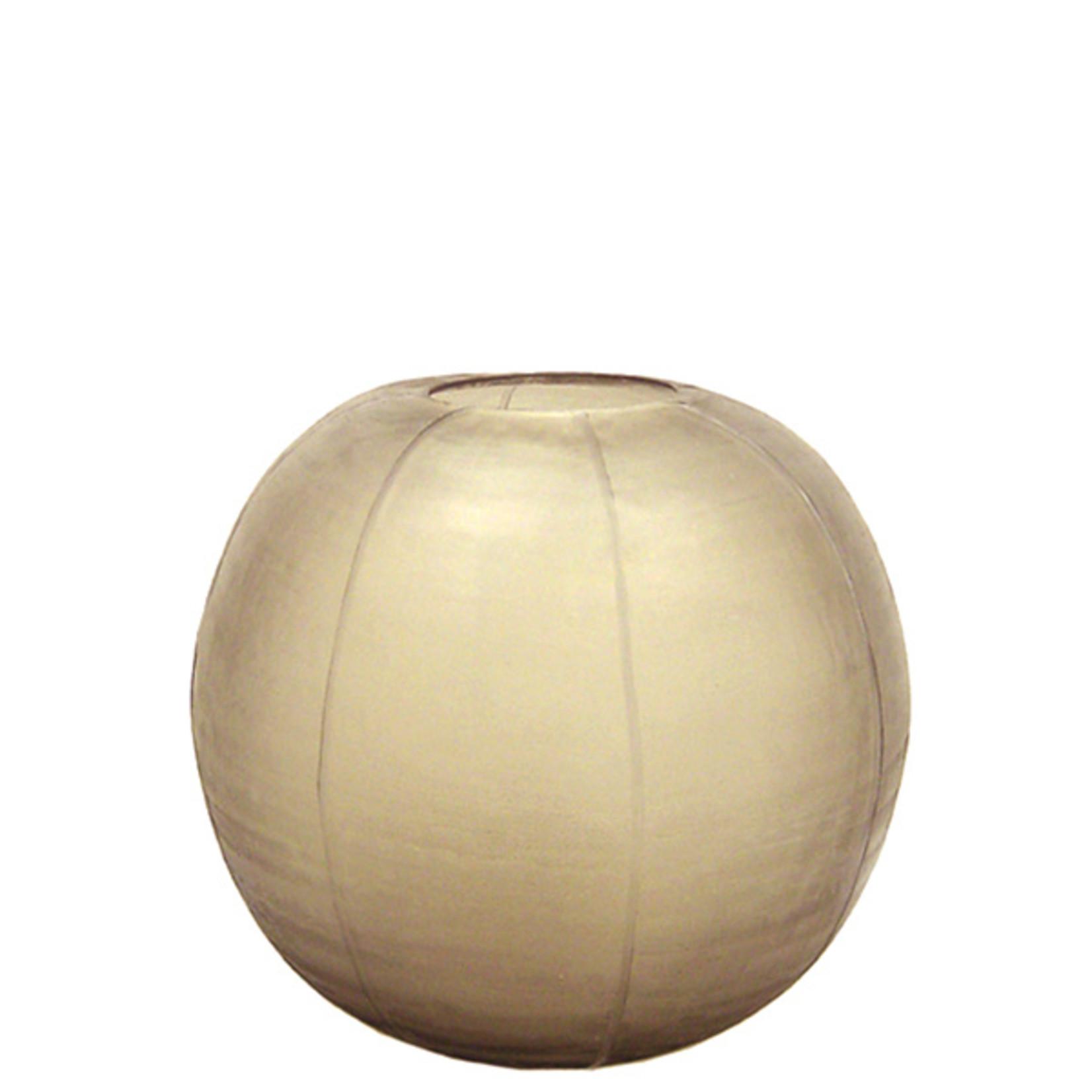 Guaxs Vase Gobi Round | smoke grey