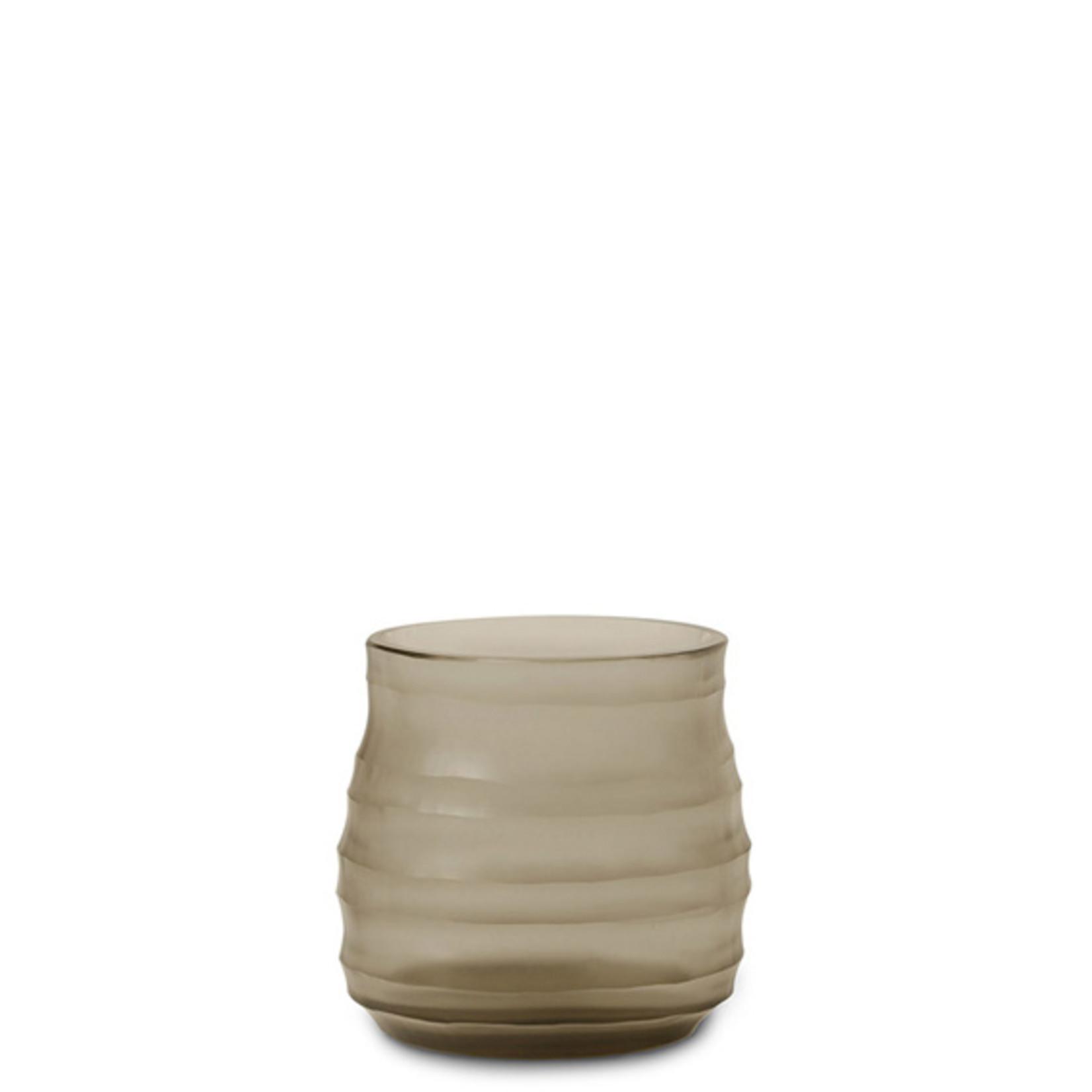 Guaxs Vase Mathura S   smoke grey