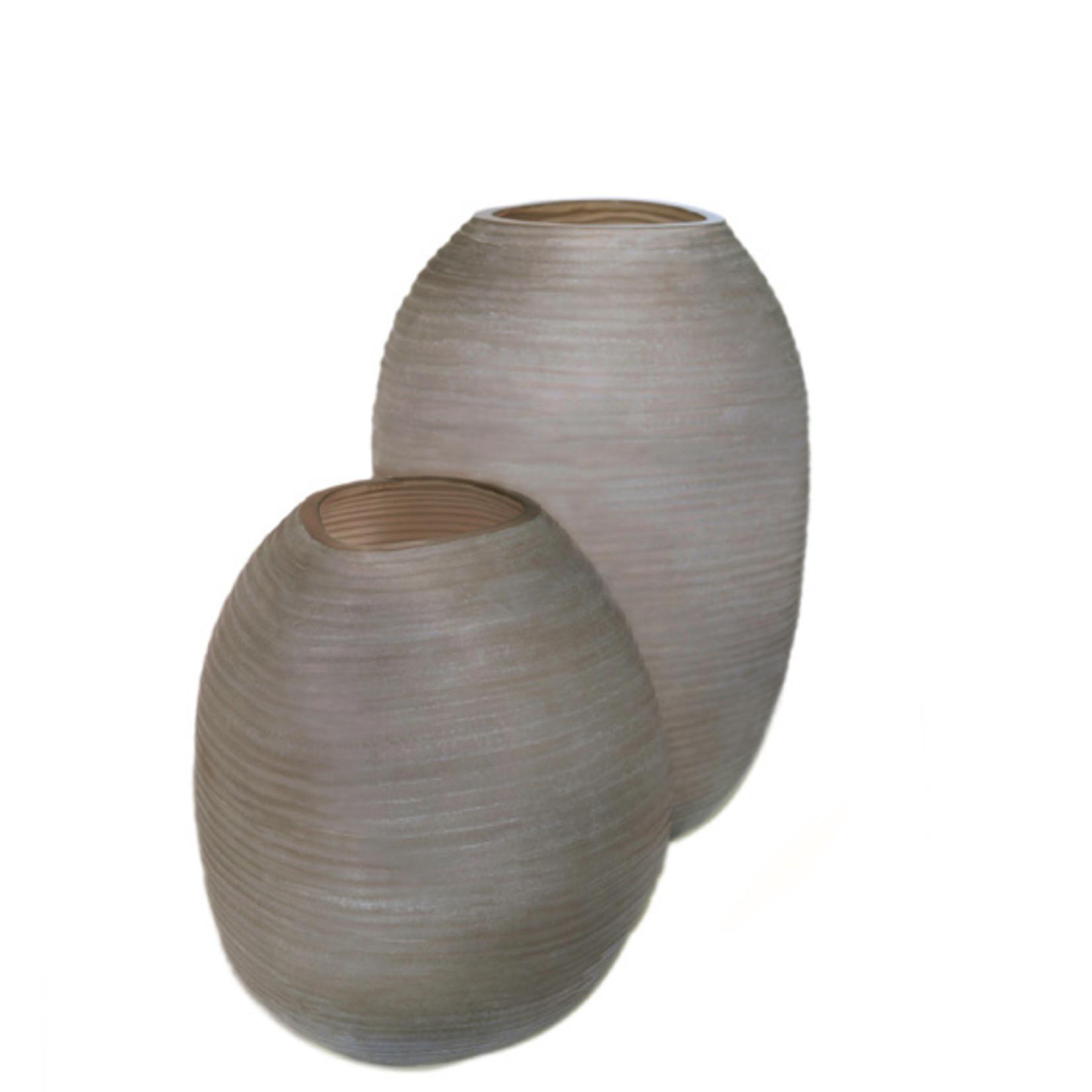 Guaxs Vase Patara Grand | gris fumée
