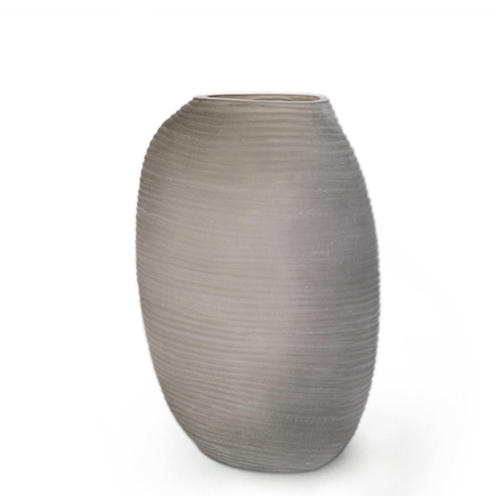 Guaxs Vase Patara Tall   smoke grey