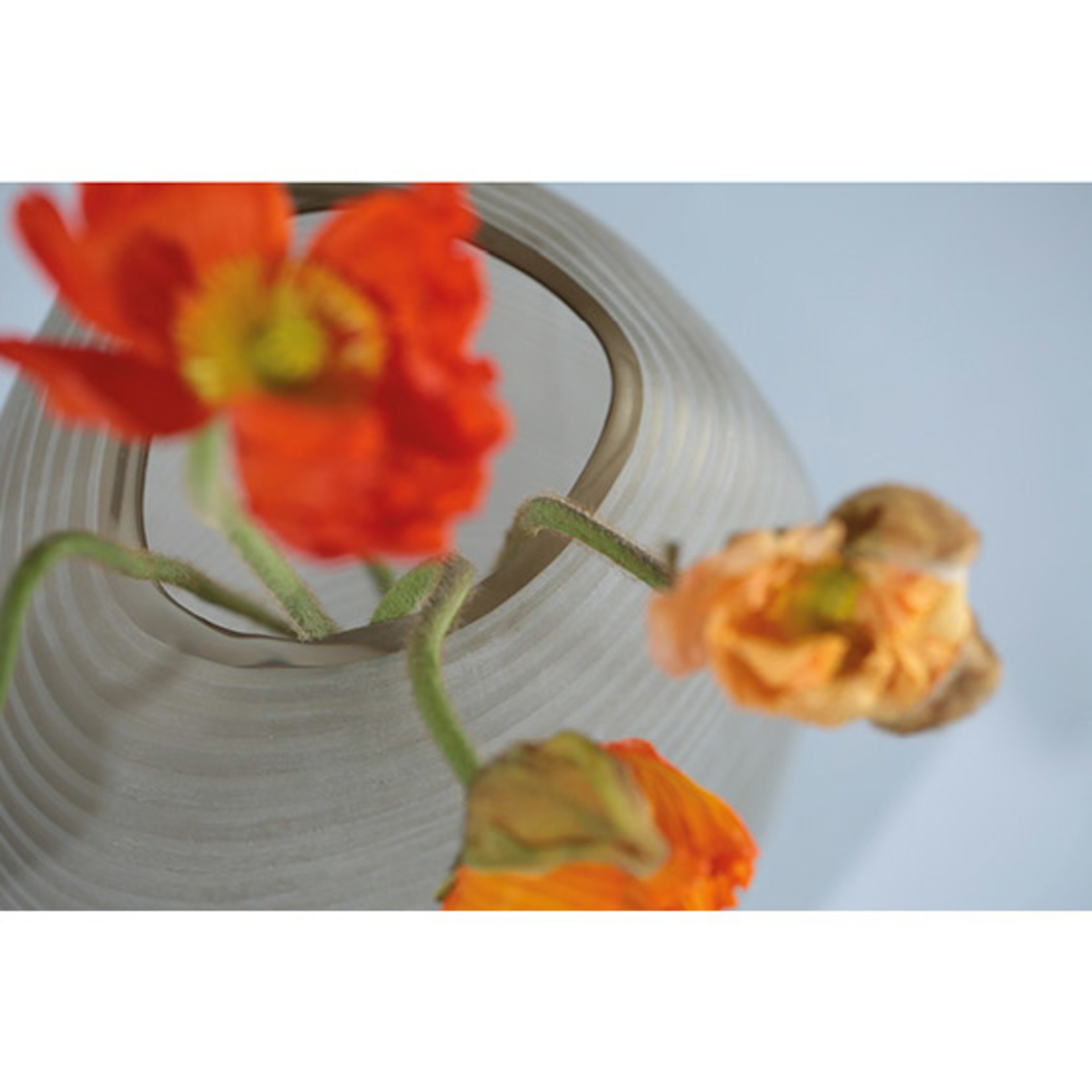 Guaxs Vase Patara Round | smoke grey