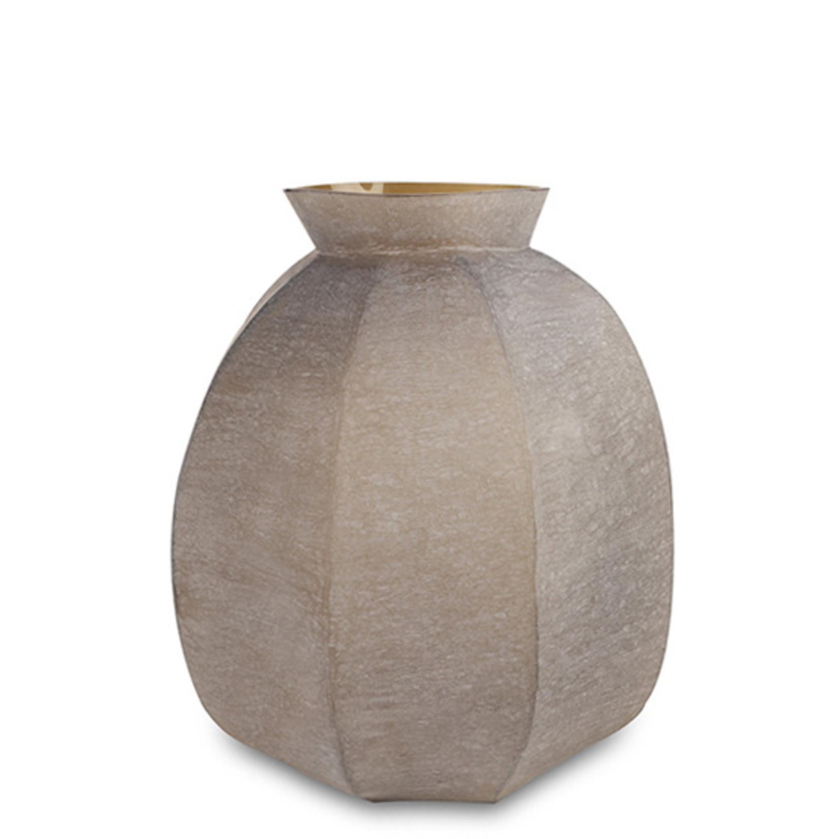 Guaxs Vase Karakol Round | smoke grey