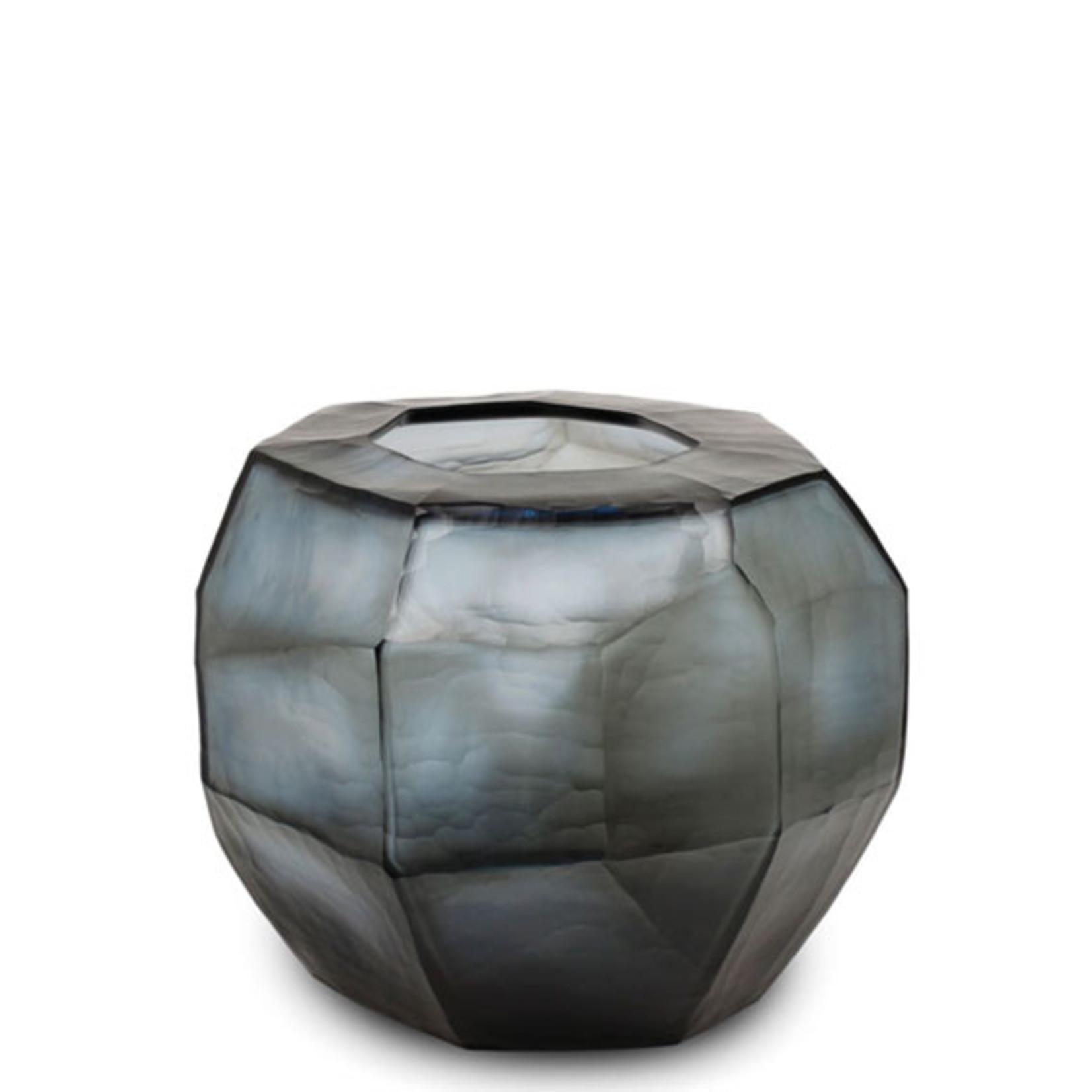 Guaxs Vaas Cubistic Round | Indigo / Smokegrey