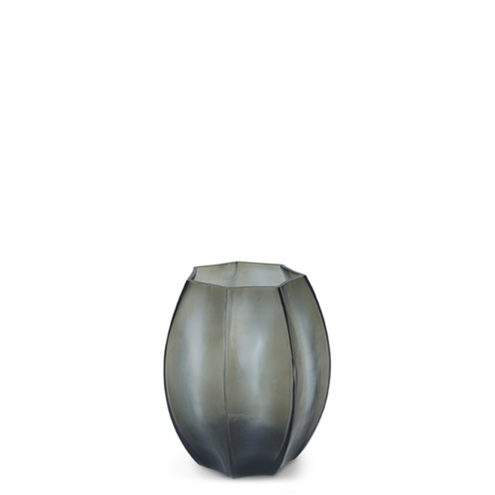 Guaxs Vase Koonam S | Indigo / Gris Fumée