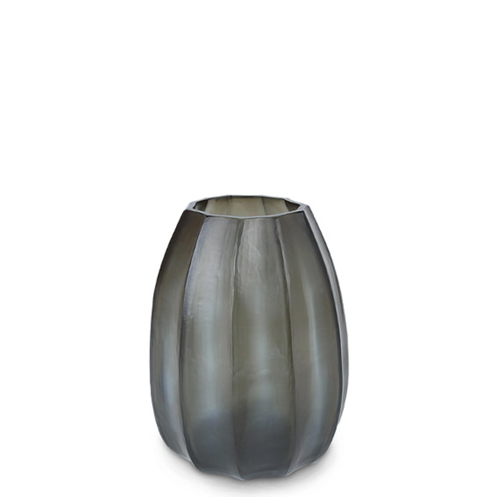 Guaxs Vase Koonam M   Indigo / Smoke Gray