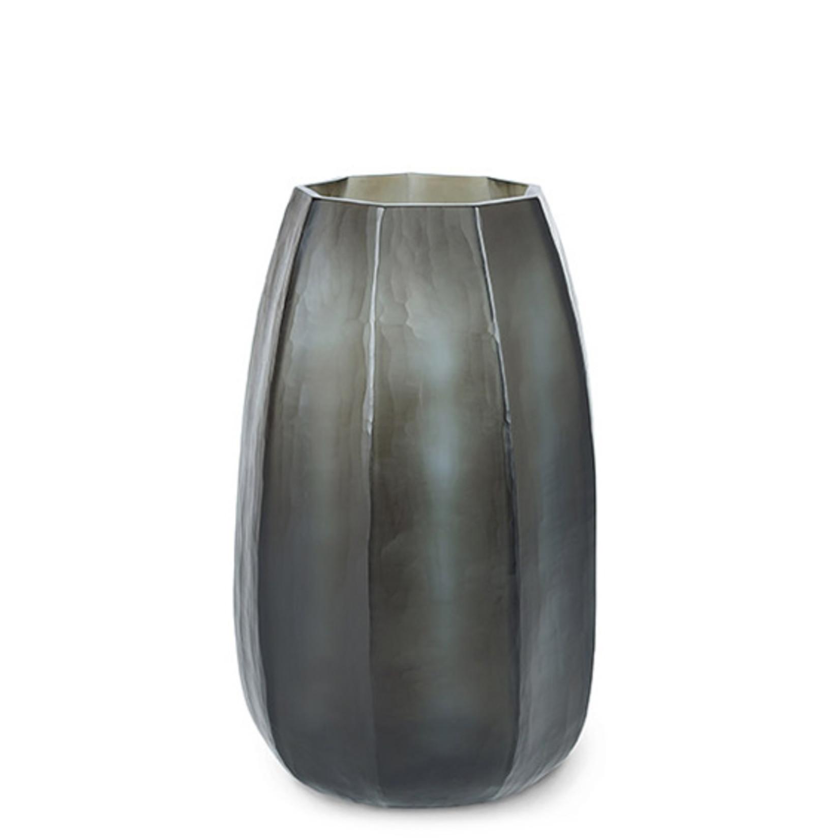 Guaxs Vase Koonam XL | Indigo / Smoke Gray